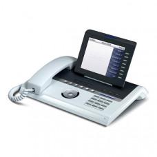 Системный IP Телефон Unify (Siemens) OpenStage 60 HFA V3 прозрачный лёд