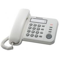 Проводной телефон KX-TS2352RU, белый