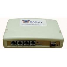 Система записи телефонных разговоров для цифровых СТ и 2-х канальных DECT БС, Telest RD8