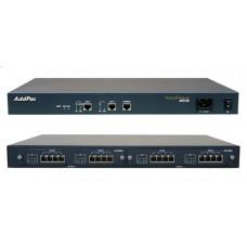 VoIP шлюз VoiceFinder AP2120, 8FXS, 8FXO, 2x10/100TX ETH, 1U