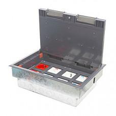 Люк на 8 постов (45х45),металл/ пластик, с металлической коробкой, IP40
