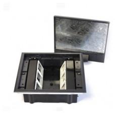 Люк на 6 постов (45х45),металл/ пластик, с пластиковой коробкой, IP40