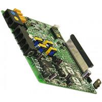 Плата CH204, 2 внешние линии, 4 гибридных внутренних абонента для АТС eMG80