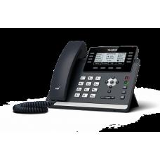SIP телефон Yealink SIP-T43U, 12 аккаунтов, 2 порта USB, BLF, PoE, GigE, без БП