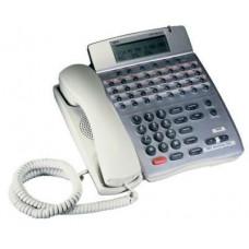 Телефон DTR-32D-1R (WH)  32 доп. кнопоки, 3-х стр. дисплей, руссиф.