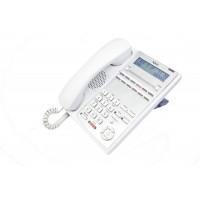 Системный телефон IP4WW-12TXH-A-TEL (WH) для АТС NEC SL1000, 12  клавиш, белый