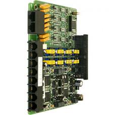 Плата BRI интерфейса BH208, 2 BRI, 8 гибридных внутренних абонентов для АТС eMG80