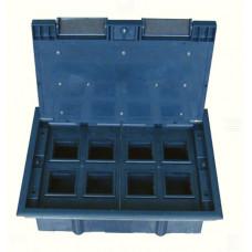 Люк на 8 постов (45х45),металл/ пластик, с пластиковой коробкой, IP40