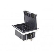 Люк на 4 поста (45х45),металл/ пластик, с пластиковой коробкой, IP40