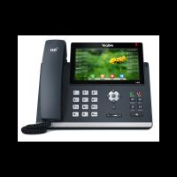 SIP телефон Yealink SIP-T48S, цветной сенсорный экран, 16 линий, BLF,  PoE, GigE, без БП