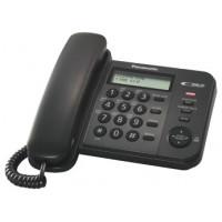 Проводной телефон KX-TS2356RU, черный