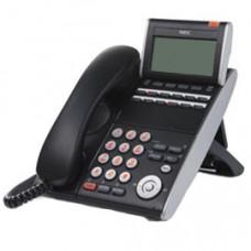 Системный телефон NEC DTL-12PA 12 доп. кнопок, 4-х стр. дисплей 224*96 точек, PSA адаптер, черный