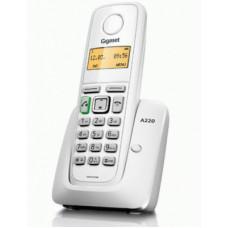 Радиотелефон DECT Gigaset A220, белый