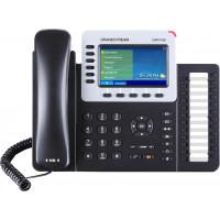 IP телефон Grandstream GXP2160, SIP, 2 порта Ethernet 10/100/1000, PoE, HD audio, БП