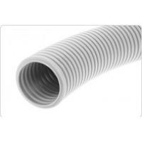 Труба гофрированная (с зондом) Ø 25 мм, серая