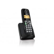 Радиотелефон DECT Gigaset A220A, черный