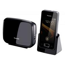 Радиотелефон DECT Panasonic KX-PRX120RU, смартфон Android, DECT\Wi-Fi, белый