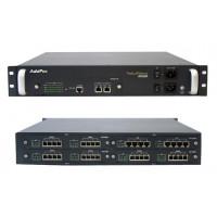 Шасси VoiceFinder ADD-AP2650, 2MD,2x10 (100)Mbps ETH, Dual PSU