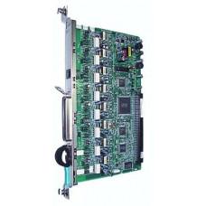 8-портовая плата цифровых гибридных внутренних линий (DHLC8) для АТС Panasonic KX-TDA\TDE