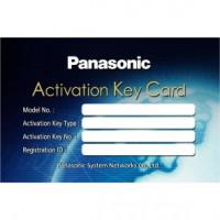 Карта активации функции обслуживания для АТС Panasonic KX-NSX