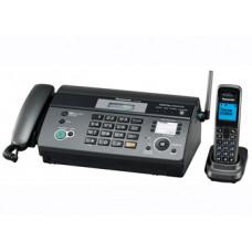 Факс Panasonic KX-FC965RU на термобумаге, темно-серый