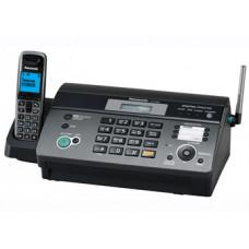 Факс Panasonic KX-FC968RU на термобумаге, темно-серый