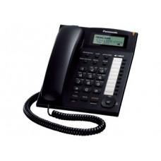Проводной телефон KX-TS2388RU, ЖКД, спикерфон, черный