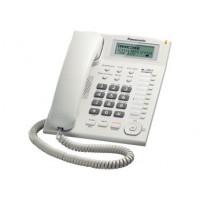 Проводной телефон KX-TS2388RU, ЖКД, спикерфон, белый