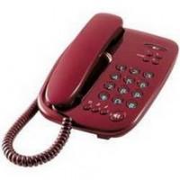 Проводной телефон LG GS-480, красный