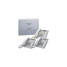 Комплект: базовый блок (6 внешних/16 внутр. линий)+2 системных т/а KX-T7730+1 т/а KX-T7735