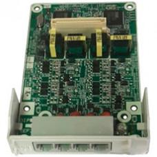 Плата LCOT4 на 4 аналоговых внешних линии для АТС KX-HTS824