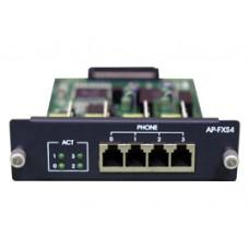 Модуль AP-FXS4, 4 порта FXS для VoIP шлюзов Addpac VoiceFinder АР2620